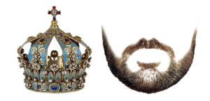 Kroning Zonder Baard, Geen Koning! - de baard