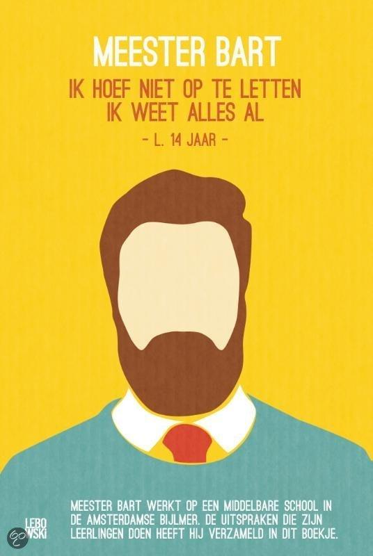 Meester Bart - de baard
