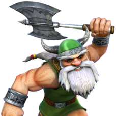 10 Golden Axe - Sega - The Dwarf