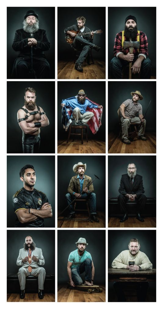 Of Beards and Men- A Portrait of Man