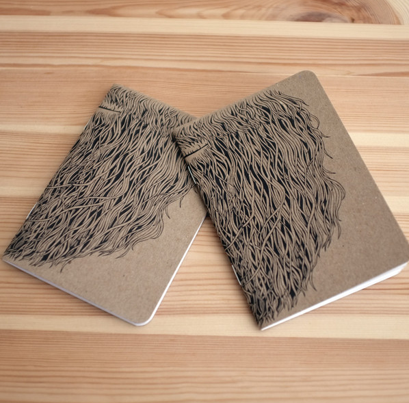 Notebook-baard-want