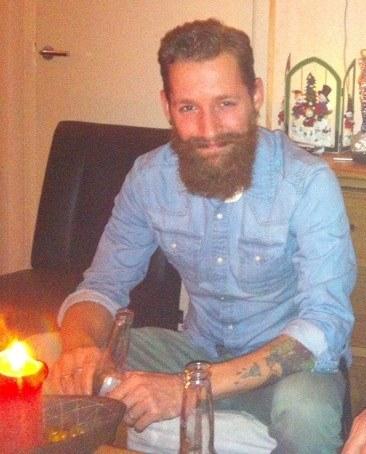 De baard van Roderick Rusche