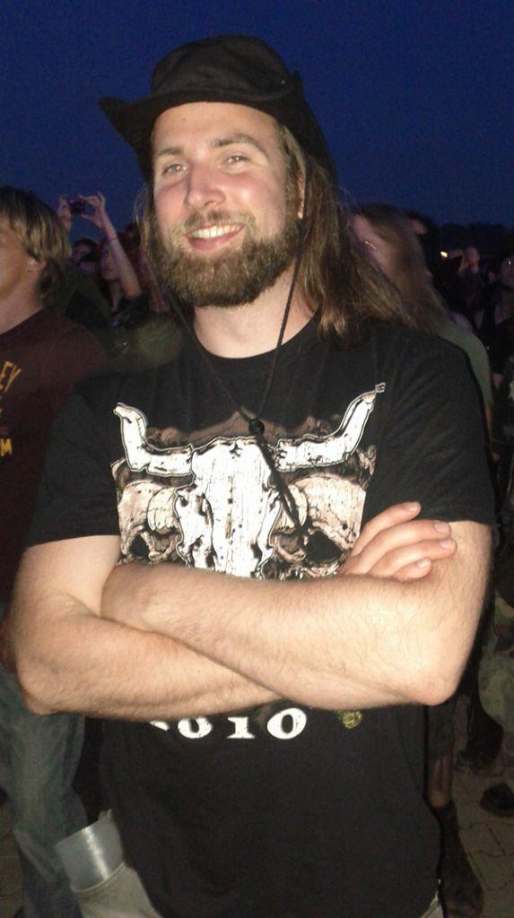 De baard van Ingmar Voogt