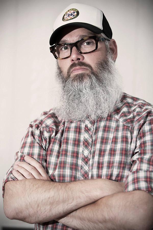 De baard van Victor van Zutven