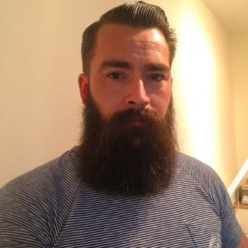 De baard van Michael Verwijs