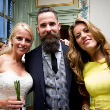 De baard van Nick van der Hoeven