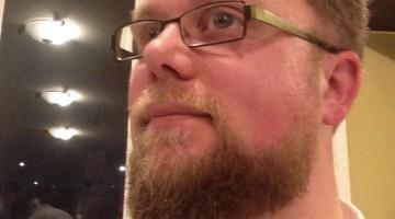 De baard van André Verhoof
