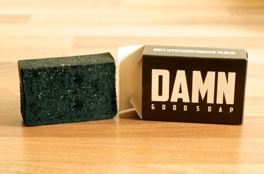 Review Damn Good Soap Baardzeep