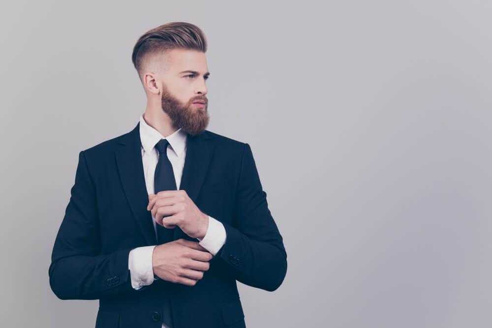 Zakenman met baard