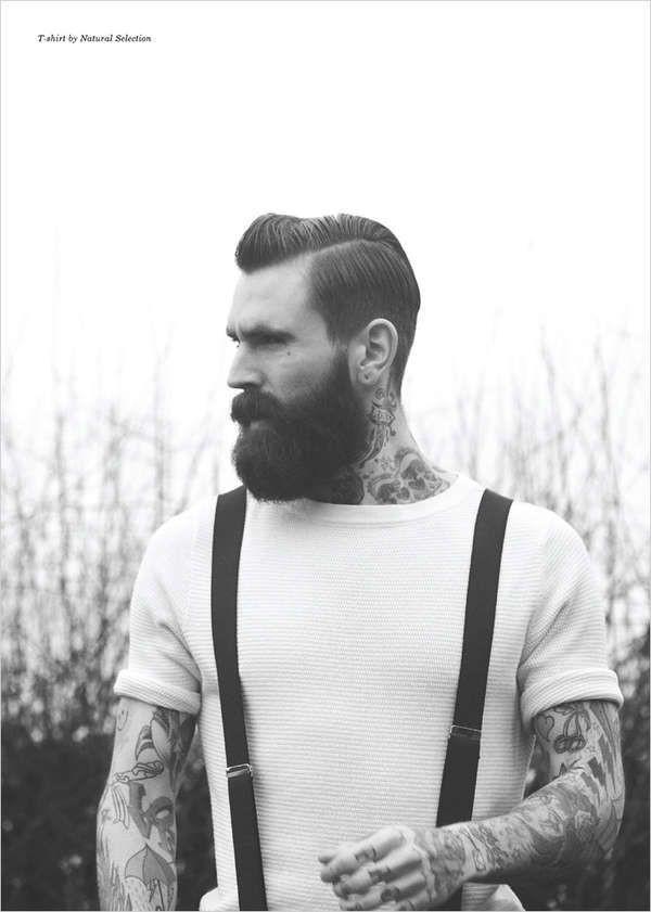 Is iedere man met baard een hipster?