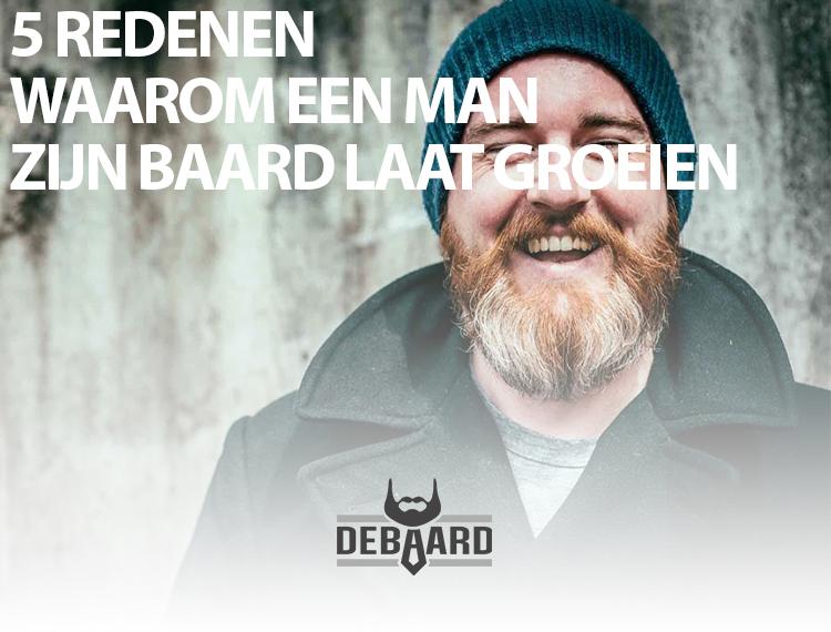 5 redenen waarom een man zijn baard laat groeien