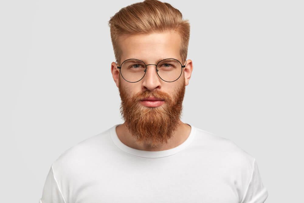 Lange baard