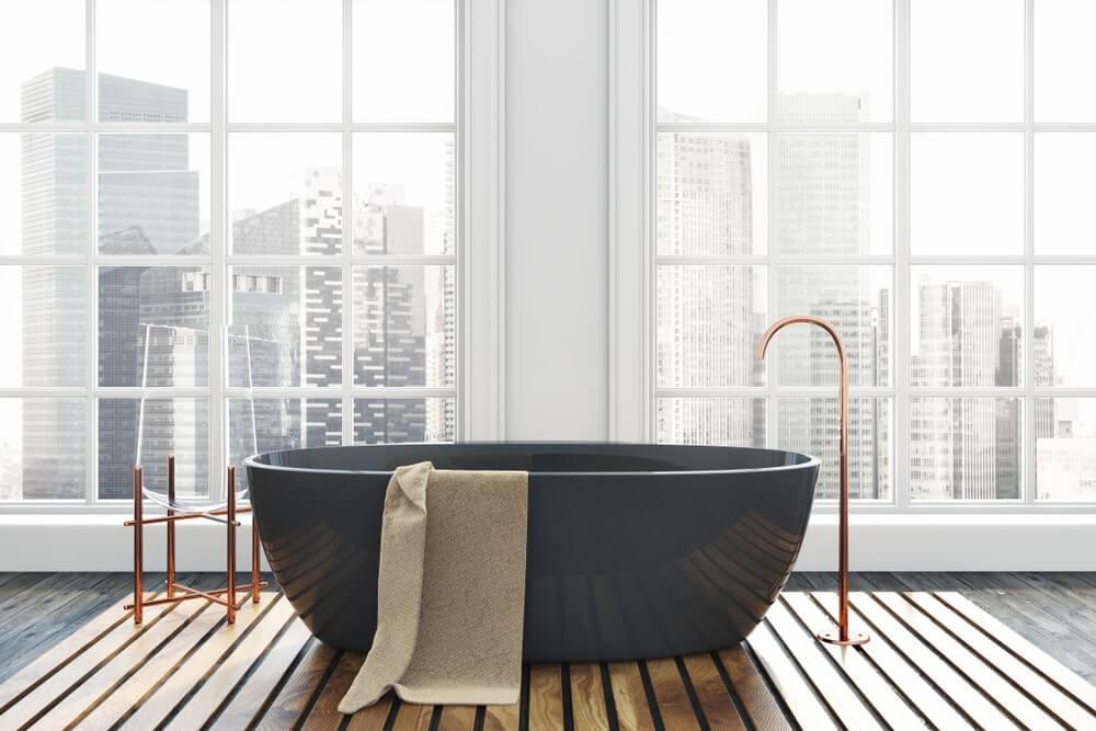 Losse badkuip