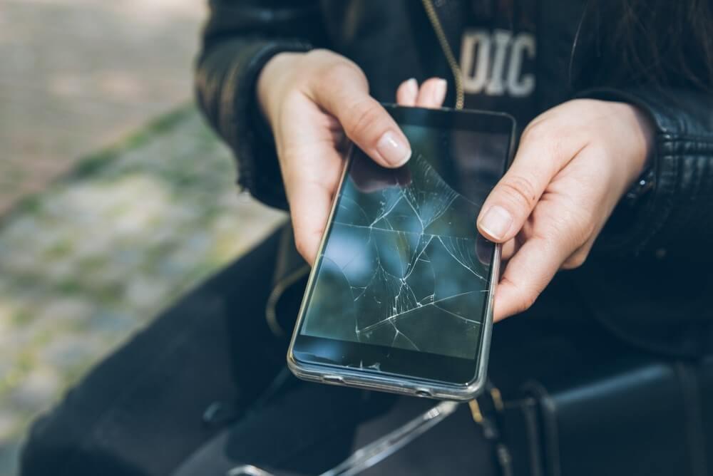 Dure smartphone heel houden